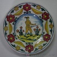 Antigüedades: PLATO DE CERAMICA - FIRMADO DUARTE. Lote 48525966