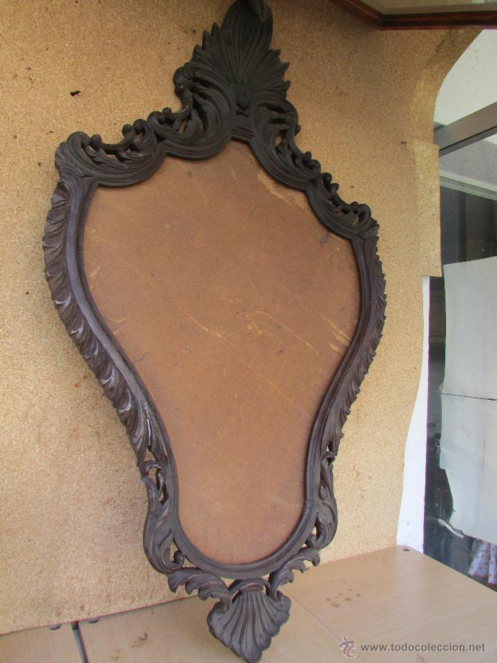 marco antiguo para cuadro o espejo en madera de - Comprar Marcos ...