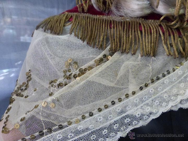 Antigüedades: ANTIGUO E IMPORTANTE TRAJE CHARRO DE NIÑA ORIGINAL SIGLO XIX CON UNA RIQUEZA EXCEPCIONAL - SALAMANCA - Foto 31 - 48552275