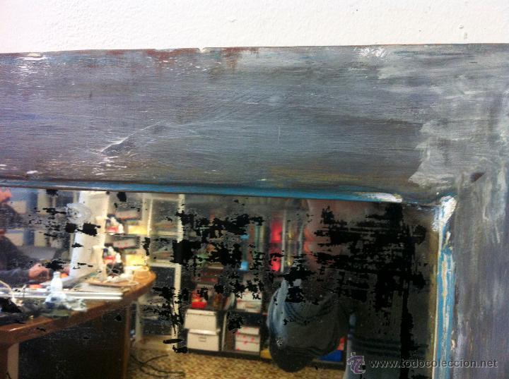 Antigüedades: antiguo espejo decapé - Foto 5 - 48558335