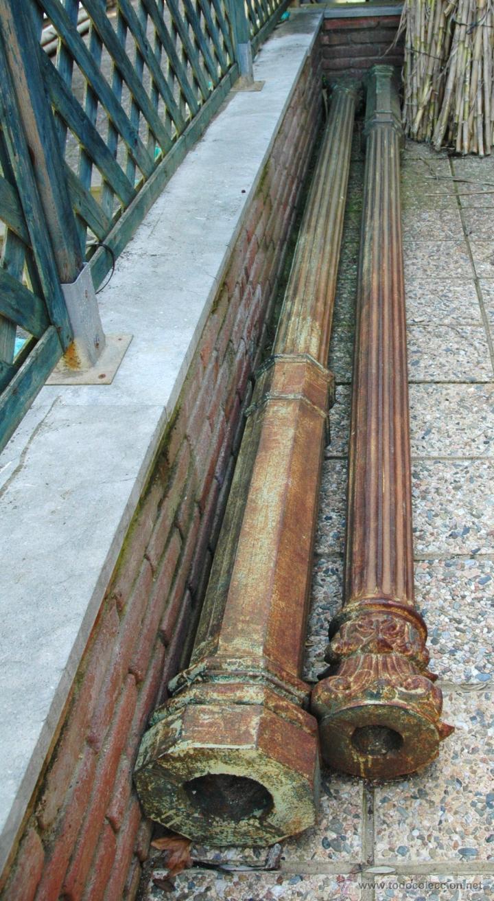 columnas de hierro comprar antig edades varias en