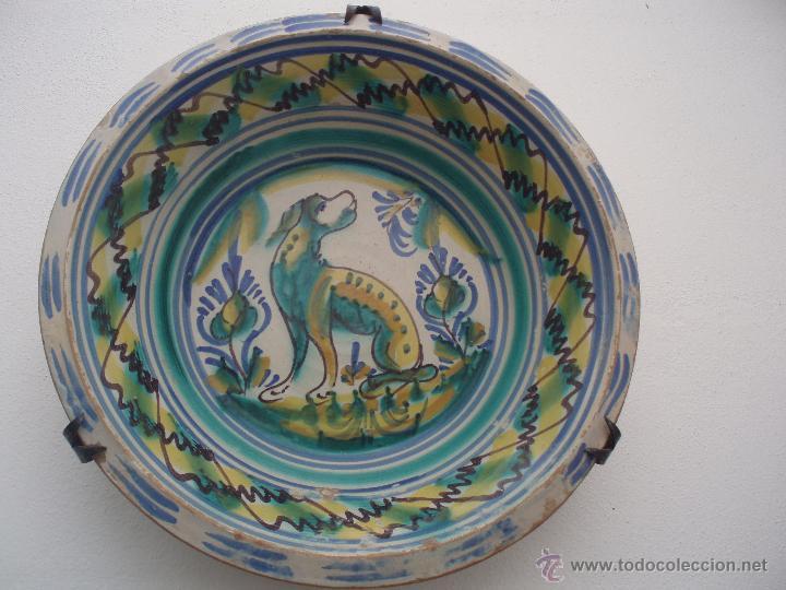 Antigüedades: LEBRILLO DE TRIANA DEL SIGLO XIX - Foto 2 - 48563026