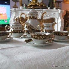 Antigüedades: JUEGO DE CAFE BAVARIA. Lote 48569427