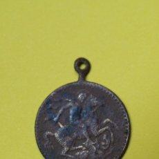 Antigüedades: ANTIGUA MEDALLA SAN JORGE. Lote 48576774