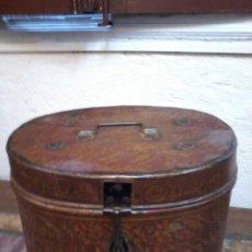 Antigüedades: EXCLUSIVA SOMBRERERA INGLESA. Lote 48590474