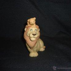 Antigüedades: FIGURA NAO LEON PORCELANA LLADRO MI PEQUEÑO REY NAO. Lote 48600687