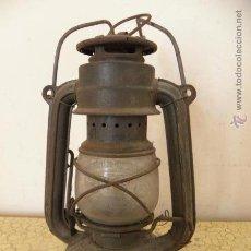 Antigüedades: CANDIL DE HOGAR FEUER HAND Nº175 SUPER BABY – GERMANY - QUINQUE. Lote 48605601
