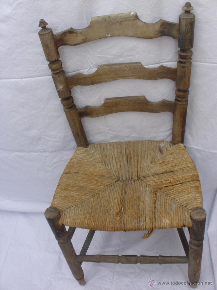 Silla de enea antigua comprar sillas antiguas en for Sillas antiguas segunda mano