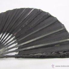 Antigüedades: ABANICO S.XIX, MADERA Y SEDA. Lote 48621949