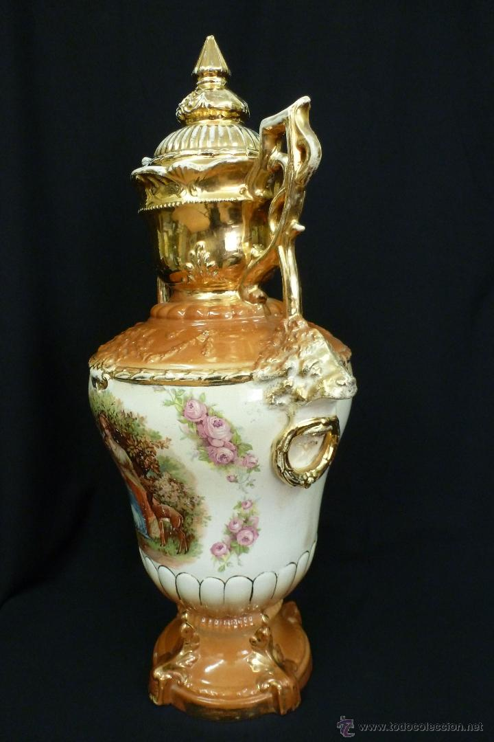 Antigüedades: TIBOR DE LOZA INGLESA - Foto 3 - 48631645