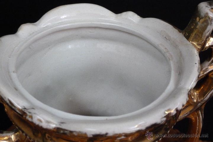 Antigüedades: TIBOR DE LOZA INGLESA - Foto 9 - 48631645