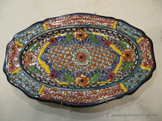 plato de ceramica tipo talavera de puebla m xic comprar