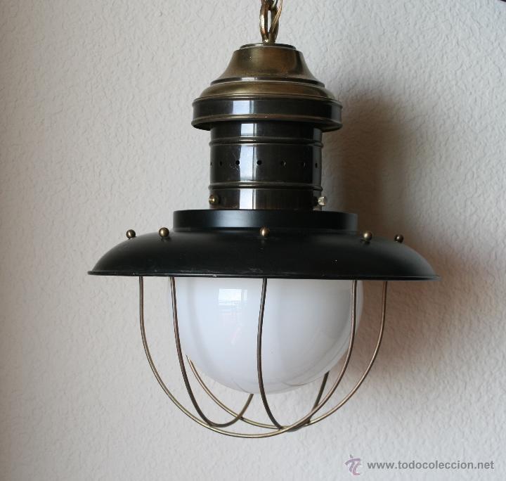 de techo Vendido en nautica farol lampara de Enorme metal AjL54R3q
