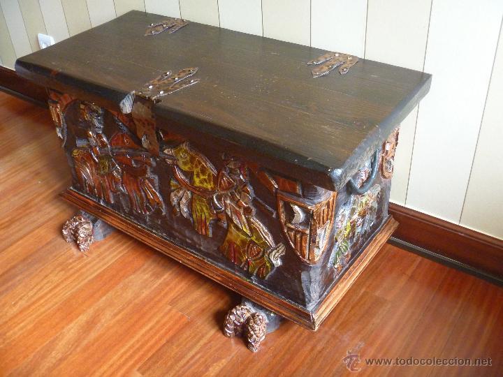 Arc n castellano policrom a impresionante ba l comprar - Muebles restaurados online ...