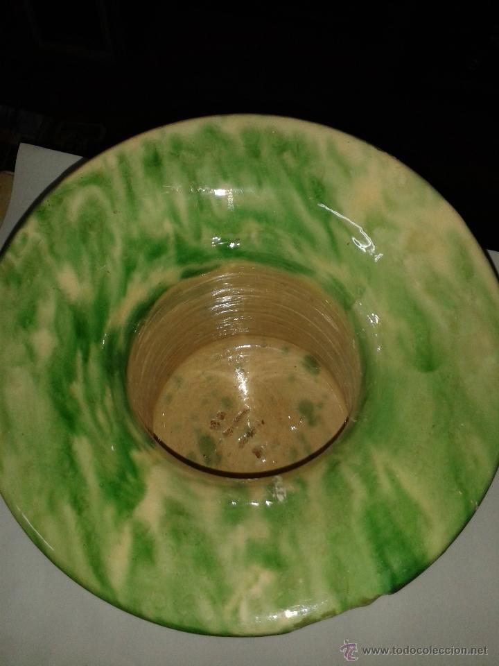 Antigüedades: orinal, don pedro de barro vidriado s XIX. - Foto 2 - 48697111