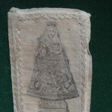 Antigüedades: ESCAPULARIO NUESTRA SEÑORA DEL CAPITULO - VENERADA EN LA VILLA DE TRASOVARES - TRASOBARES , ZARAGOZA. Lote 48699683