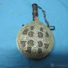 Antigüedades: BONITA Y ANTIGUA LICORERA LICOR ANIS REPUJADA POSIBLEMENTE ARABE. Lote 48703541