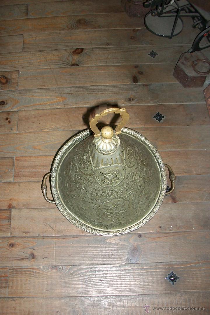 Antigüedades: ANTIGUO RECIPIENTE PARA PONER DULCES- AFRICANO-BONITO TALLADO - Foto 3 - 48704117