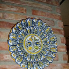 Antigüedades: PLATO DE PORCELANA DE TALAVERA. Lote 48732197