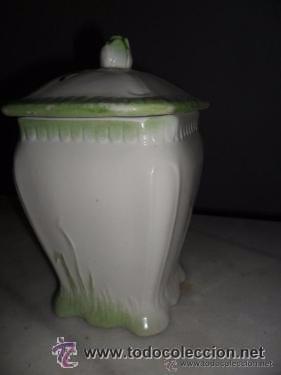Antigüedades: Porcelana alemana - tarros de cocina, estilo modernista - Foto 8 - 48734952
