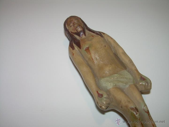 Antigüedades: ANTIGUA IMAGEN RELIGIOSA DE TERRACOTA...SIGLO XIX..EPOCA ISABELINA...PERFECTO ESTADO DE CONSERVACION - Foto 2 - 48756475
