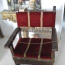 Antigüedades: SILLÓN FRAILERO S.XVIII. SÓLO RECOGIDA EN SEVILLA.. Lote 48771122