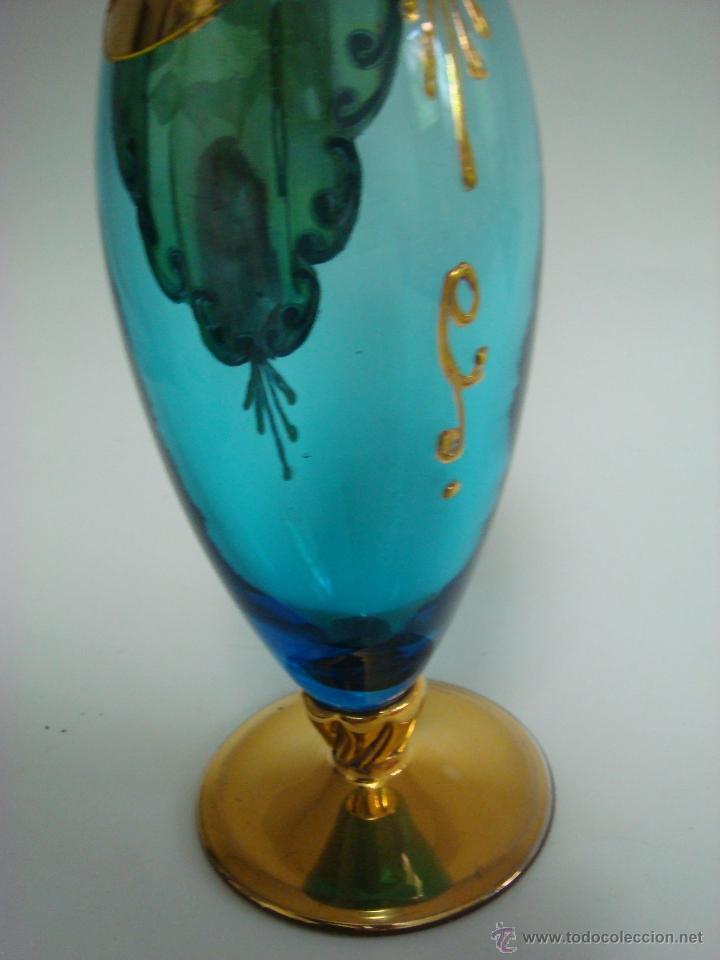 Antigüedades: Juego de licor de cristal de Murano. Venecia - Foto 2 - 65017086