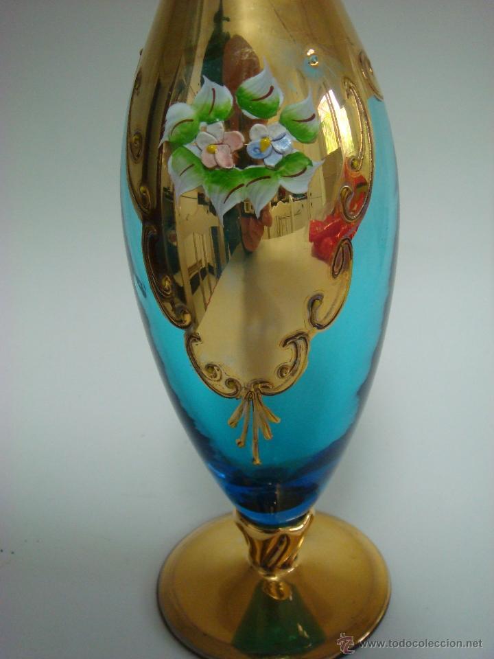 Antigüedades: Juego de licor de cristal de Murano. Venecia - Foto 3 - 65017086