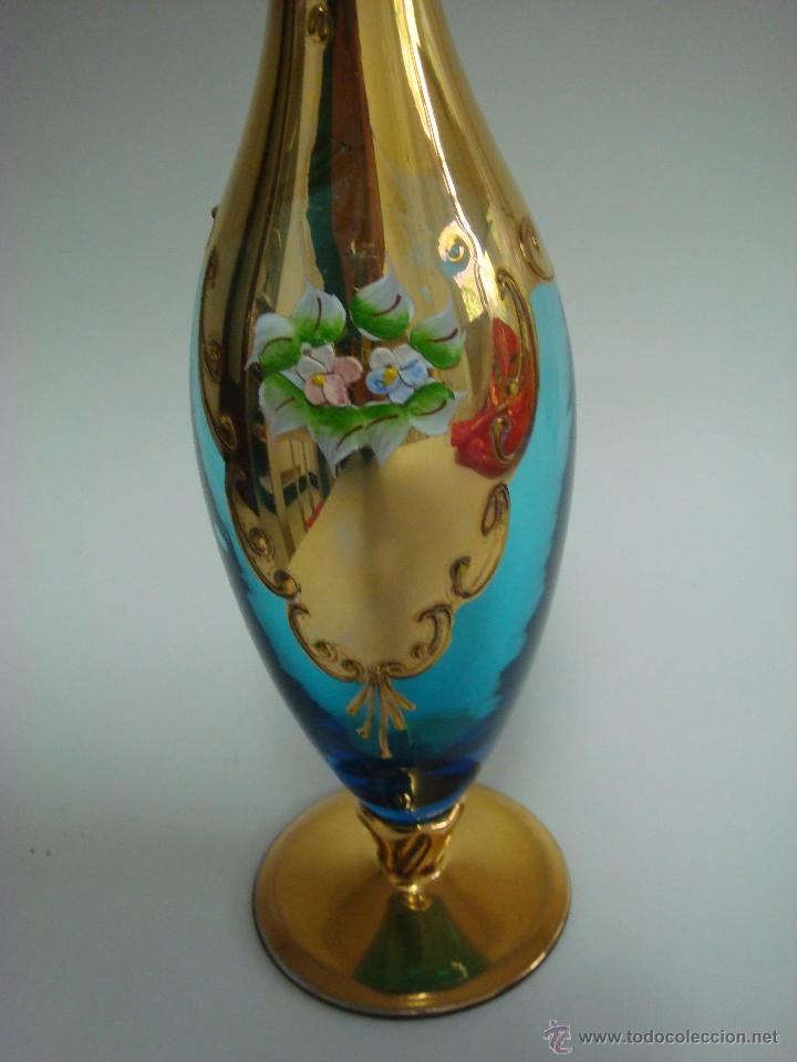 Antigüedades: Juego de licor de cristal de Murano. Venecia - Foto 4 - 65017086