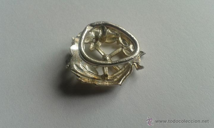Antigüedades: PIN OJAL PLATA DE LEY PROFESIÓN CARRERA INGENIERO DE CAMINOS - Foto 3 - 48779763