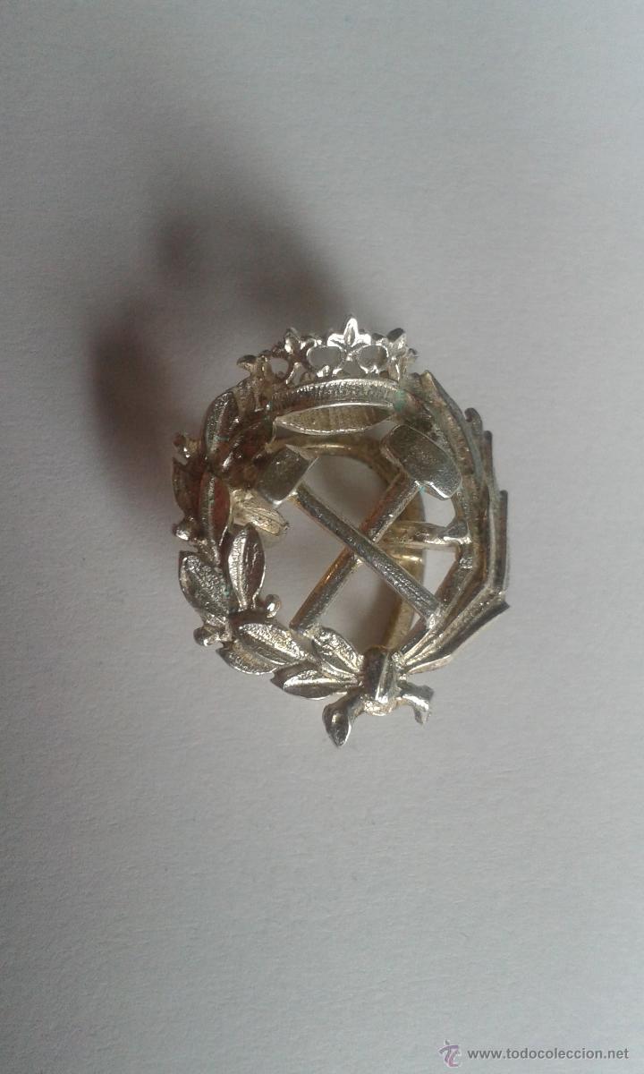 Antigüedades: PIN OJAL PLATA DE LEY PROFESIÓN CARRERA INGENIERO DE CAMINOS - Foto 8 - 48779763
