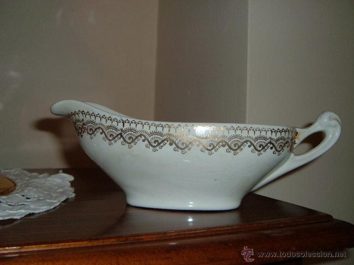 SALSERA IT CHINA OPACA SANTANDER (Antigüedades - Porcelanas y Cerámicas - Otras)