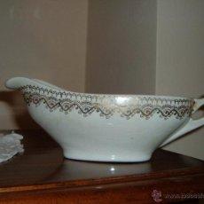 Antigüedades: SALSERA IT CHINA OPACA SANTANDER. Lote 48782103