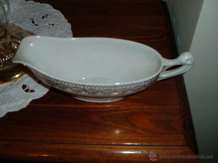 Antigüedades: Salsera IT CHINA OPACA SANTANDER - Foto 3 - 48782103