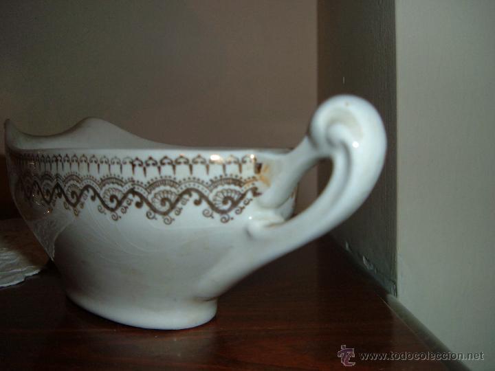 Antigüedades: Salsera IT CHINA OPACA SANTANDER - Foto 4 - 48782103