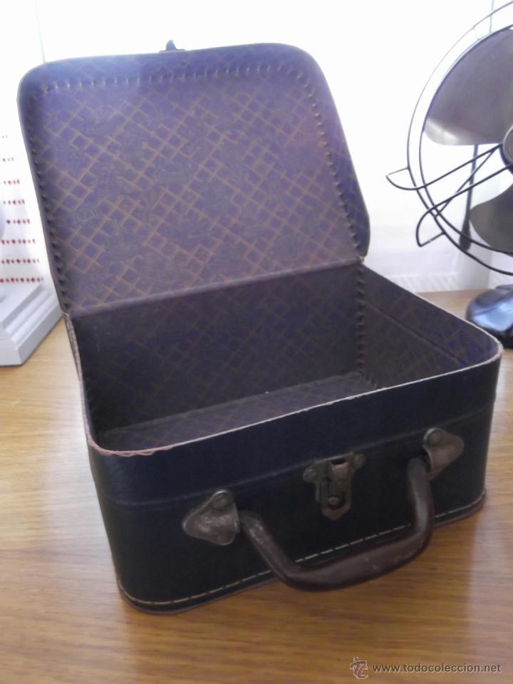 Antigüedades: Pequeña maleta para niñas os - Foto 2 - 48805441