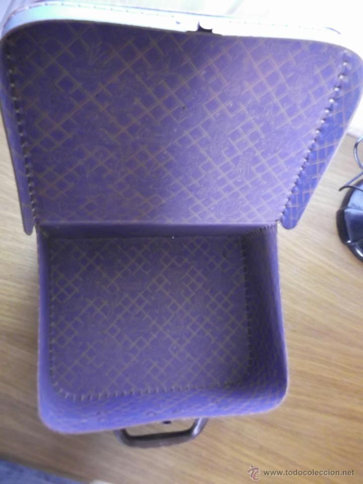 Antigüedades: Pequeña maleta para niñas os - Foto 3 - 48805441