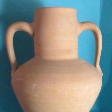 Antigüedades: CÁNTARO DE TERRACOTA. ALTURA 25,5 CM. Lote 48806302