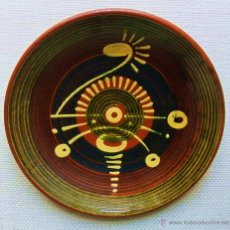 Antigüedades: PLATO DE CERÁMICA DE PUIGDEMUNT. Lote 48812423
