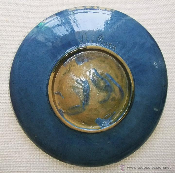 Antigüedades: Plato de cerámica de Vilá-Clará - Foto 2 - 48812470