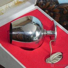 Antigüedades: ** ANTIGUA COPA DE PLATA PUNZONADA - CALIENTA COÑAC **. Lote 48823858