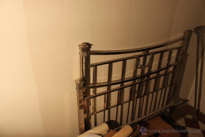 cabecero y piecero de cama metalica años 20 - Comprar Camas Antiguas ...