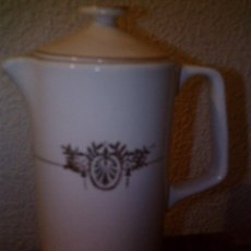 Antigüedades: ~~~~CAFETERA S.XIX MODERNISTA 1920, SAN CLAUDIO - OVIEDO~~~~. Lote 48861300
