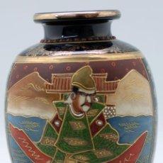Antigüedades: JARRÓN SATSUMA CERÁMICA JAPONESA JAPÓN AÑOS 50. Lote 48866641