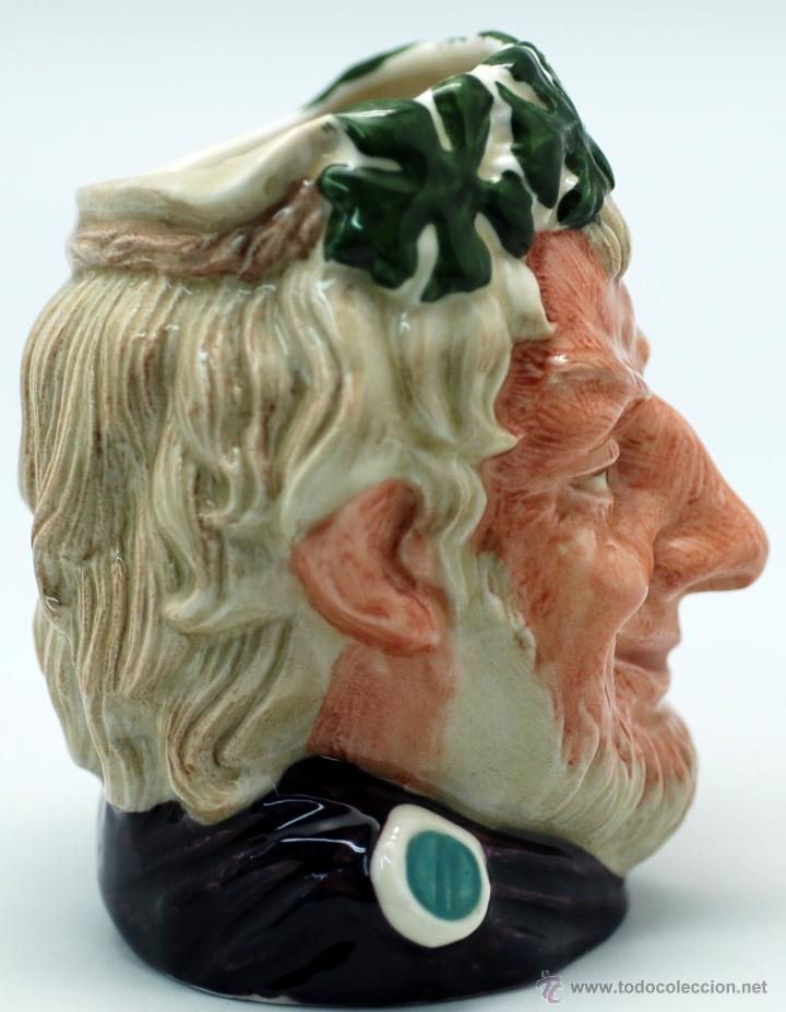 Antigüedades: Toby jug jarra porcelana Royal Doulton Bacchus sello base - Foto 2 - 48867000