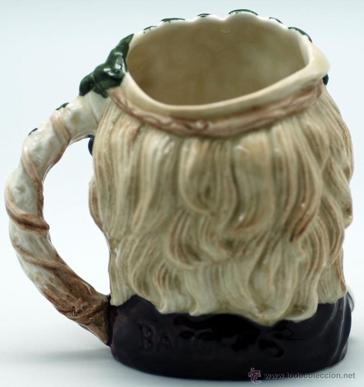 Antigüedades: Toby jug jarra porcelana Royal Doulton Bacchus sello base - Foto 3 - 48867000