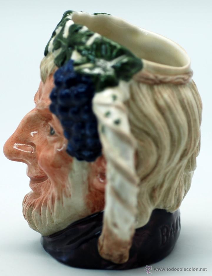 Antigüedades: Toby jug jarra porcelana Royal Doulton Bacchus sello base - Foto 4 - 48867000