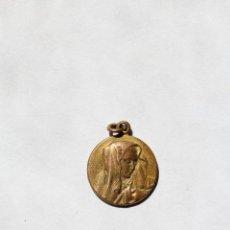Antigüedades: M- 242. MEDALLITA CON IMAGEN DE LA VIRGEN EN RELIEVE.. Lote 48869175