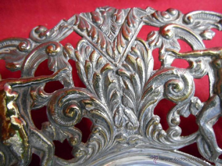 Antigüedades: BONITO CENTRO DE MESA MODERNISTA PLATEADO - PPOS SIGLO XX - - Foto 6 - 48873217