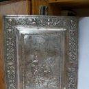 Antigüedades: MAGNIFICA PLACA DE COBRE CINCELADO CON BAÑO DE PLATA EDICION LIMITADA . Lote 48881279